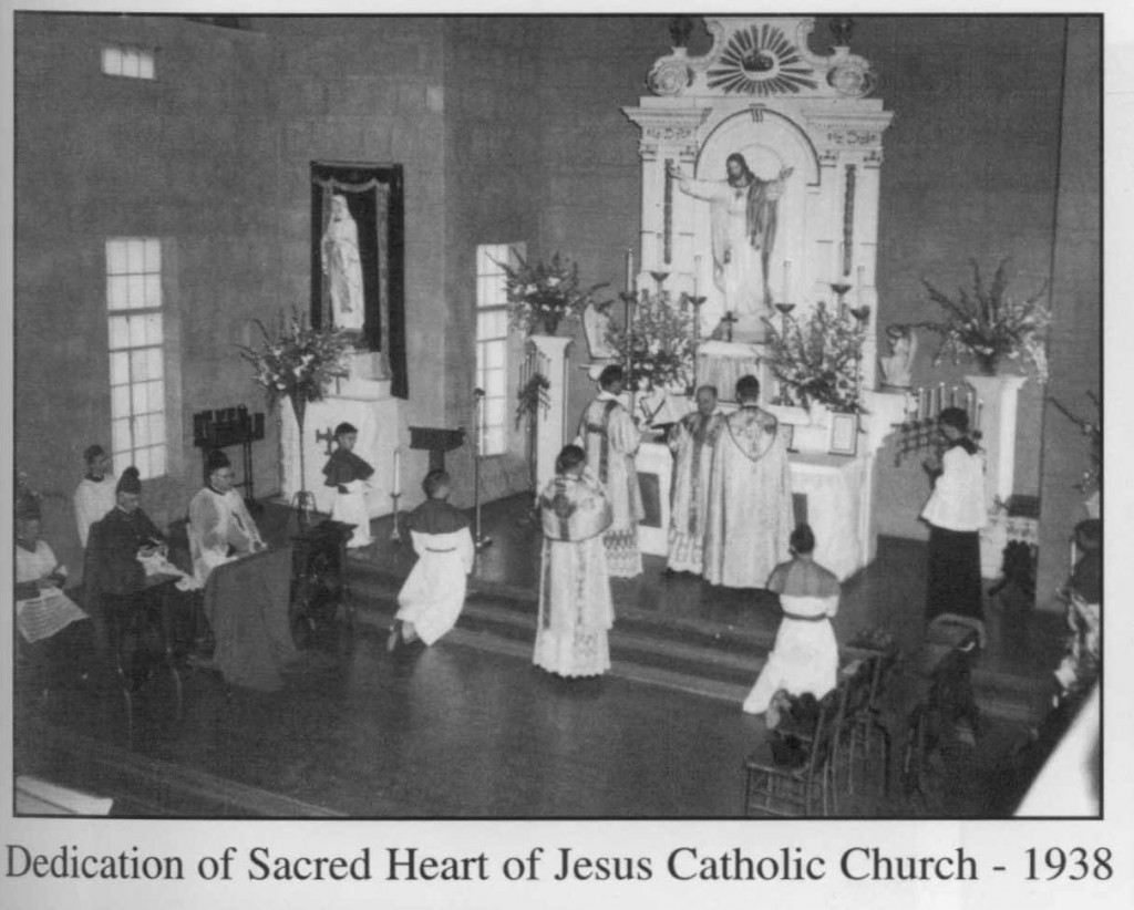 The History of Sacred Heart Parish