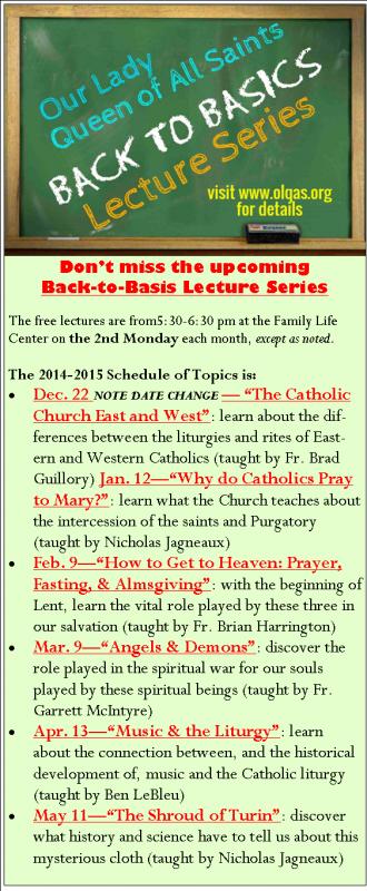 Back to Basics 2014-15 Bulletin Promo UPDATE 11-10-14