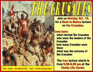 Crusades promo piece