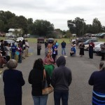 Living Rosary at St. Joseph Catholic Church, Ville Platte